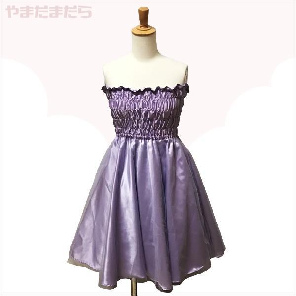 フェミニンなミニ丈ドレス♪(女性) やまだまだら|yamamada|06