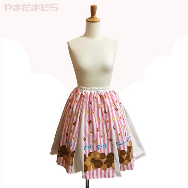乙女チックなスカート やまだまだら|yamamada