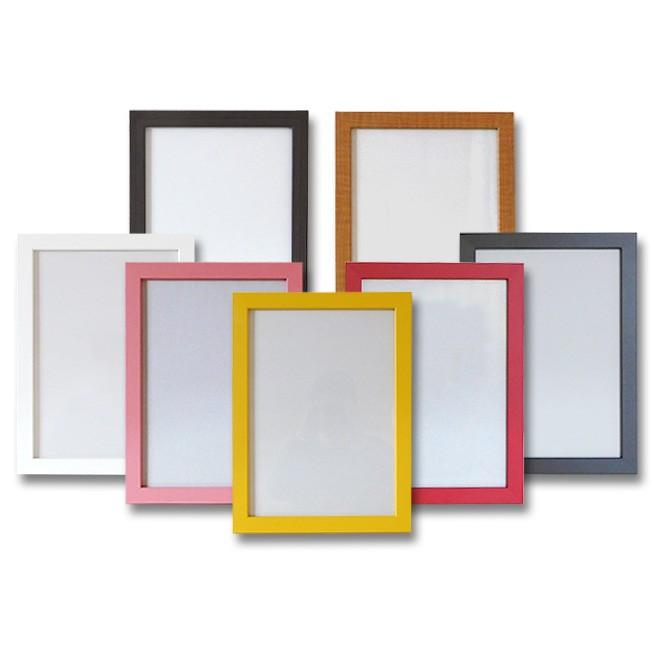 クリアファイルを飾る額縁 A4サイズ用 (対応クリアファイルサイズ220x310mm) UVカット ペット板仕様 木製フレーム 壁掛けフレーム|yamamoku-gifu|02