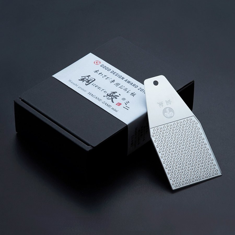 【正規品】本わさび専用おろし板鋼鮫ミニ|yamamotofoods|03