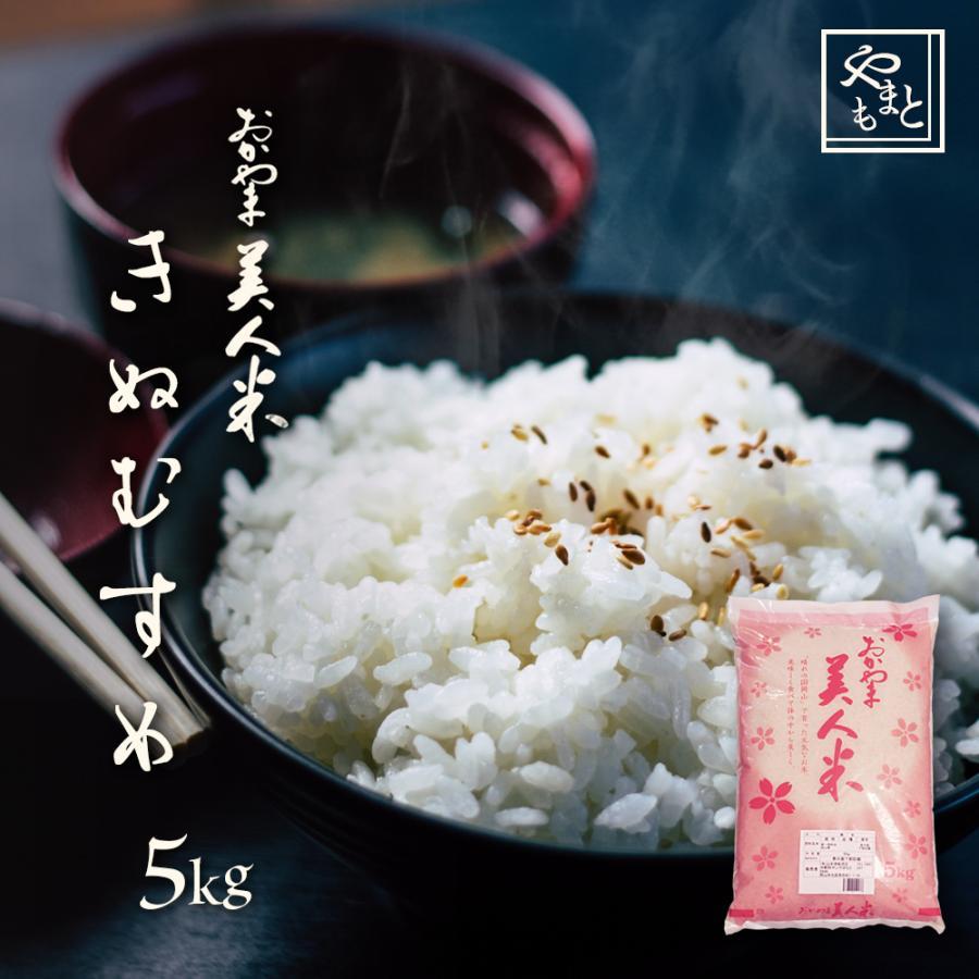 米 令和3年 新米 岡山県産 特A米 きぬむすめ 5kg 1袋 お米 キヌムスメ 5キロ 一等米 送料無料 安い|yamamotoyasuosaketen