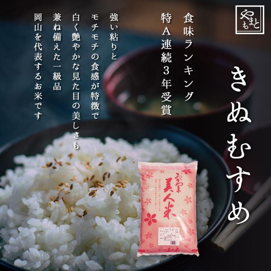 米 令和3年 新米 岡山県産 特A米 きぬむすめ 5kg 1袋 お米 キヌムスメ 5キロ 一等米 送料無料 安い|yamamotoyasuosaketen|02