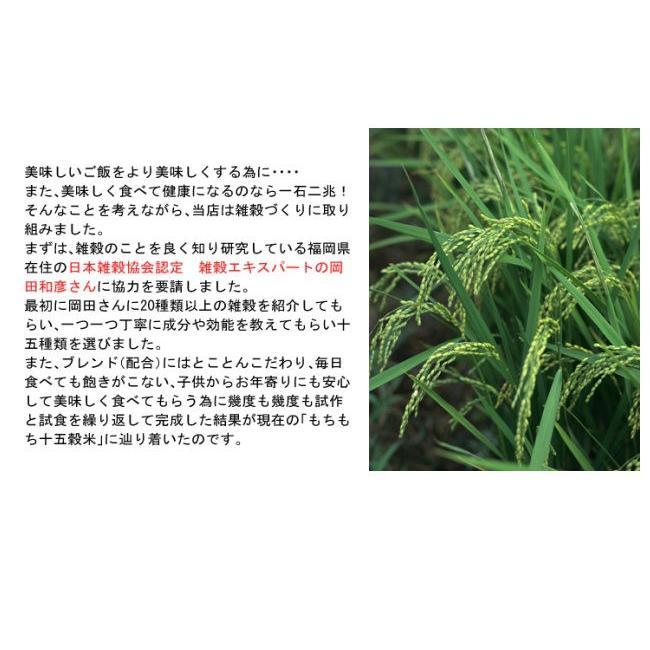もちもち十五穀米 280g 雑穀米 ヘルシー おいしい 美味しい 健康 自然食品 送料無料|yamaneen|05