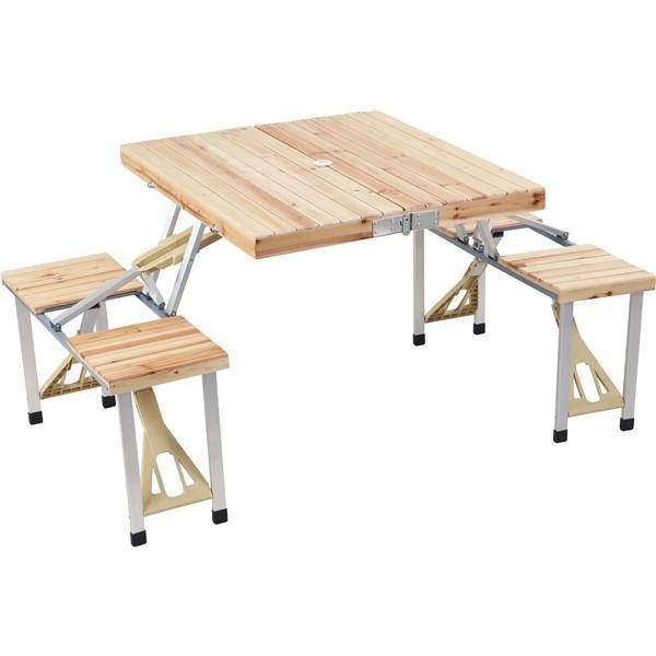 アウトドア ピクニック キャンプ テーブルチェアーセット STK1015《 送料無料 》