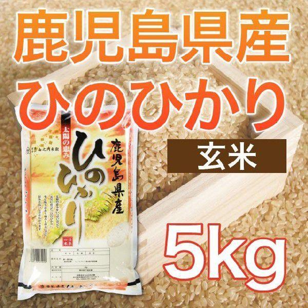 令和元年産 鹿児島県産ヒノヒカリ 玄米 5kg 送料無料(一部地域を除く)