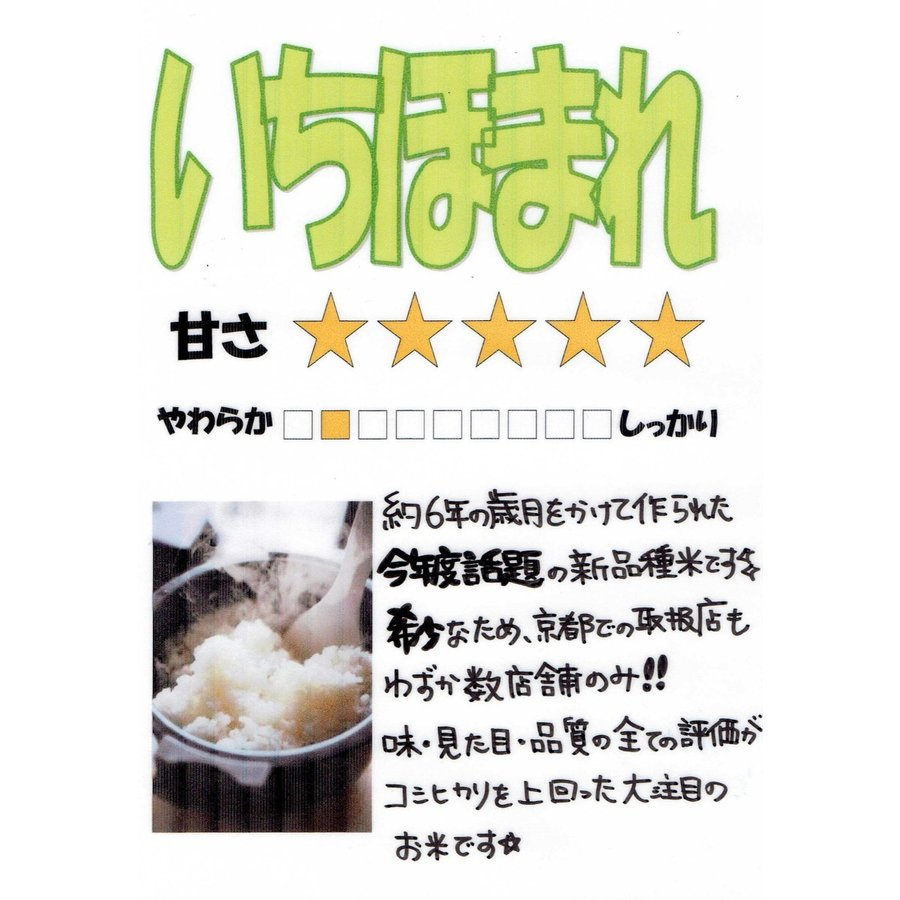 お米5kg  福井県産 いちほまれ 令和2年産 玄米5kg×1袋 選べる精米|yamasina|02