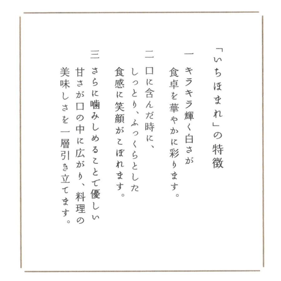 お米5kg  福井県産 いちほまれ 令和2年産 玄米5kg×1袋 選べる精米|yamasina|05