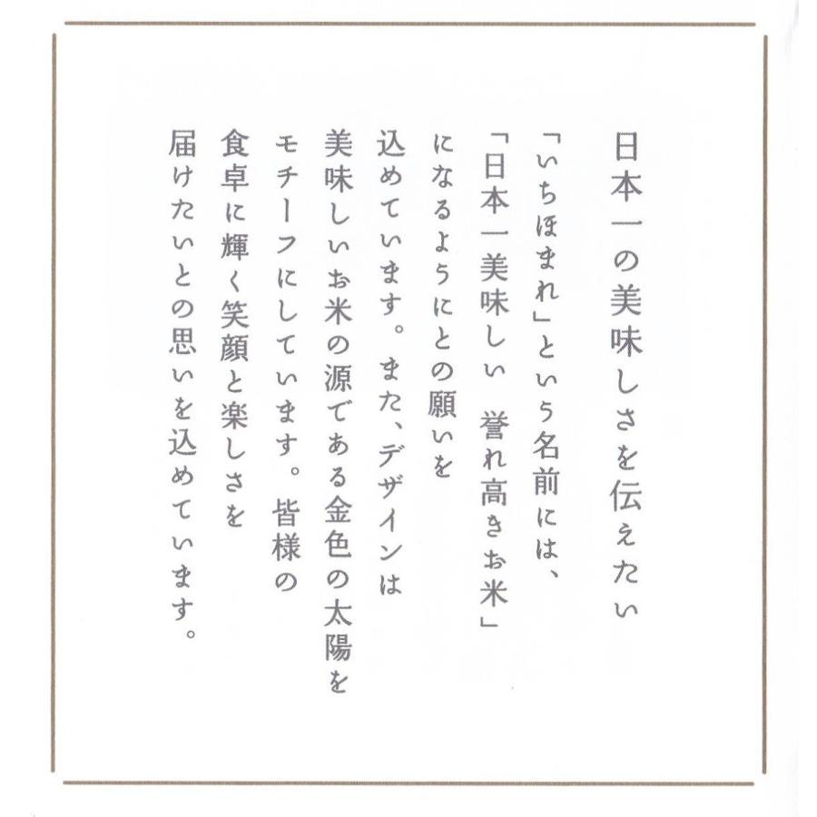 お米5kg  福井県産 いちほまれ 令和2年産 玄米5kg×1袋 選べる精米|yamasina|09