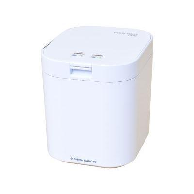 島産業 生ごみ減量乾燥機 1·5人用 パリパリキュー ホワイト PPC11-WH