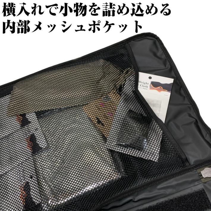 albatre アルバートル 防水 防汚素材使用 マルチギアコンテナ 約48L Mサイズ ソフトタイプ JETBLACK アウトドアバッグ キャンプバッグ AL-OB101T yamatoasobu 06