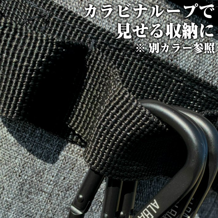 albatre アルバートル 防水 防汚素材使用 マルチギアコンテナ 約48L Mサイズ ソフトタイプ JETBLACK アウトドアバッグ キャンプバッグ AL-OB101T yamatoasobu 08