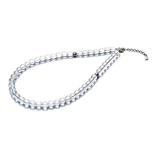 ファイテン(phiten) ネックレス 水晶ネックレス(8mm) 50cm(+5cmアジャスター)