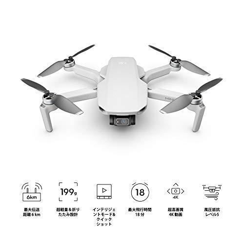 【国内正規品】 DJI MINI 2 Fly More コンボ ドローン カメラ付き 小型 グレー one size|yanagoma-store|08