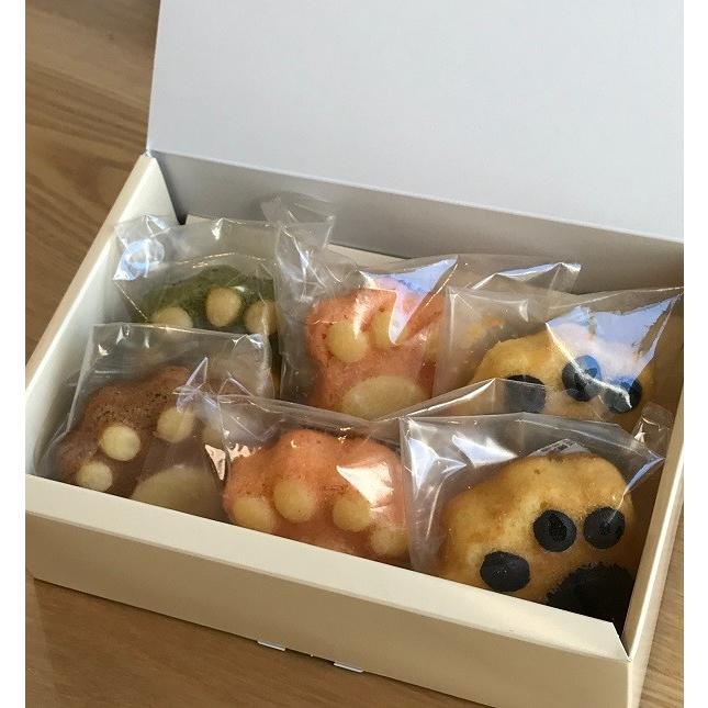 帰省の代わりの贈り物 焼き菓子 マドレーヌ 詰め合わせ 肉球マドレーヌ6個セットSサイズ ギフト yanakado 09