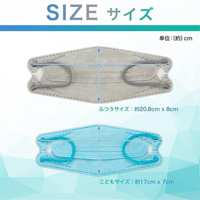 マスク KF94 不織布マスク 30枚セット 使い捨てマスク 立体 小顔 衛生マスク 3D立体 カラーマスク 通気性 快適 花粉対策 大人用|yandk|18