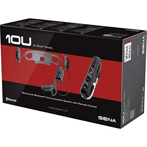 SENA (シーナ) 10U-SH-12 10U Bluetooth コミュニケーション SHOEI NEOTEC