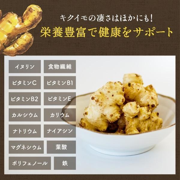 菊いも粉末【100g×5個セット】宮崎県産キクイモ100% yao800 05
