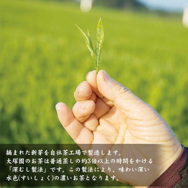 お茶農家「大塚園」のプレミアム緑茶【10パックx15包入】 yao800 04
