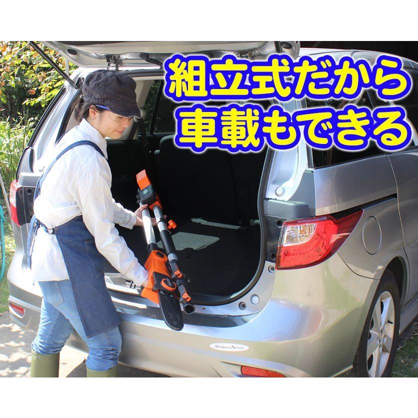 YARD FORCE・ヤードフォース「高枝切り電動チェーンソーVmax」(ES N25A-JP)|yardforce-official|06