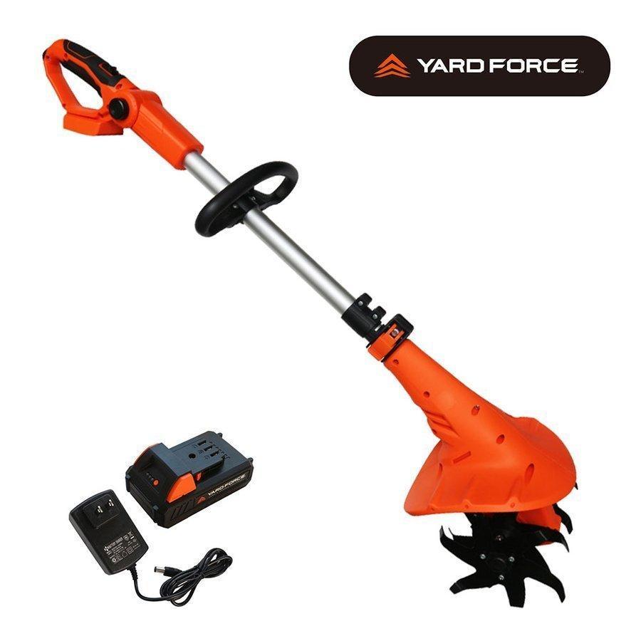 YARDFORCE ヤードフォース 家庭用24Vコードレス耕運機 LEC 20-JP|yardforce-official|02