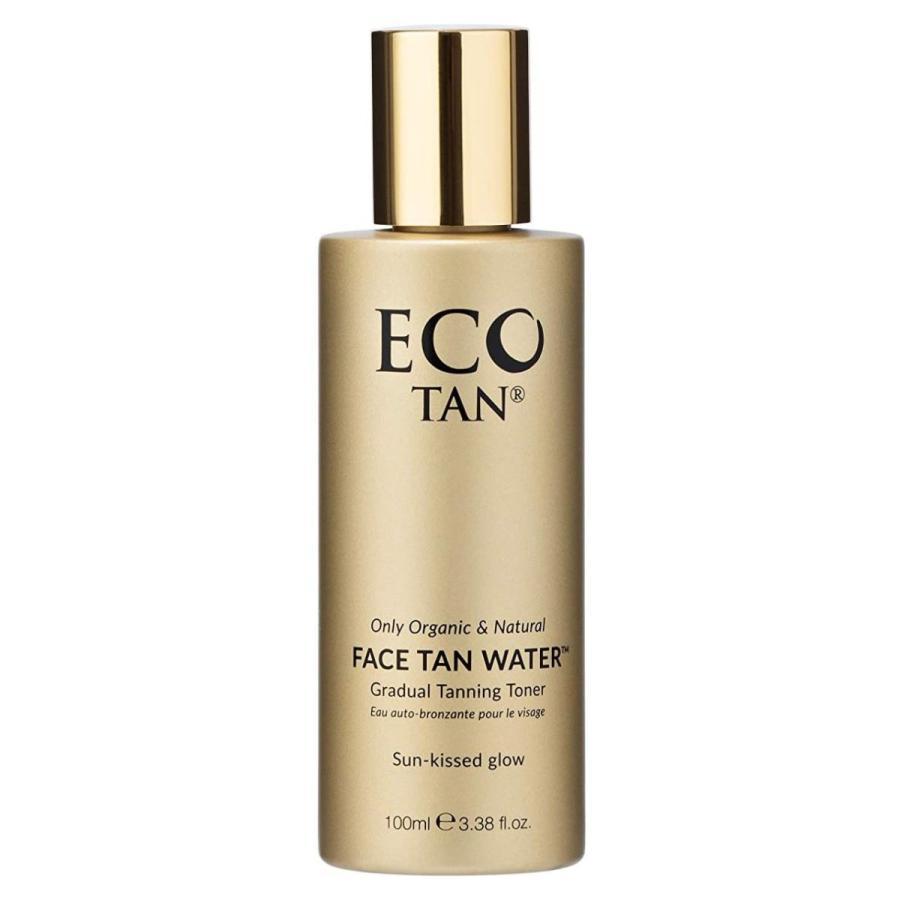 EcoTan フェイスウォーター 100ml◆スキンローション エコタン セルフタンニングローション セルタン 日焼け肌 褐色肌オーガニック 天然成分 顔用|yasac