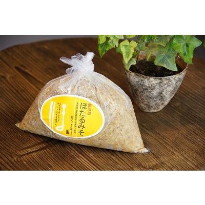 ほたる味噌 1kg 九州・四国産原料使用麦味噌|yasaimura