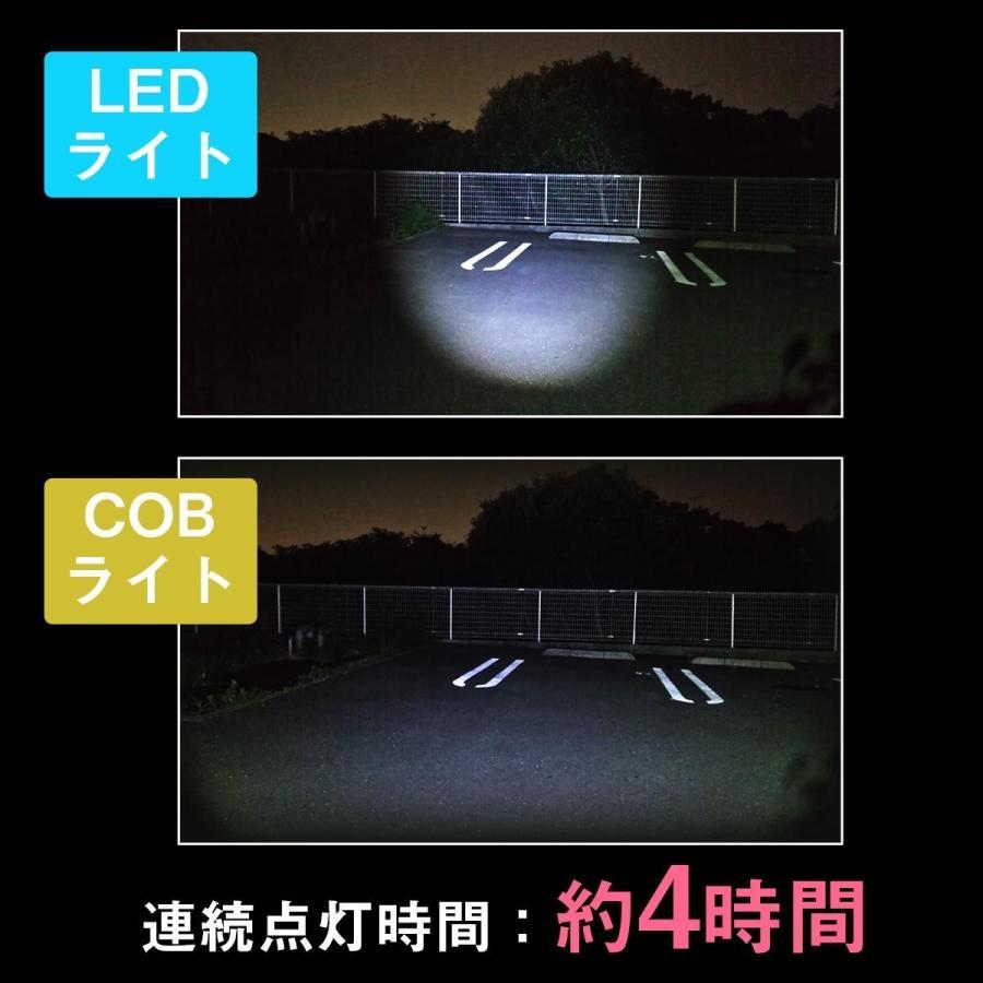 ヘッドライト led cob 充電式 軽量 アウトドア 防災 釣り ランプ 懐中電灯 USB充電 登山|yasuizemart|03