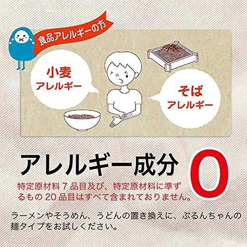 (送料無料)ぷるんちゃん 麺タイプ 100g×30袋セット 糖質 炭水化物 脂質 食塩 コレステロール 0g コンニャク こんにゃく グルテンフリー yasukabai 06