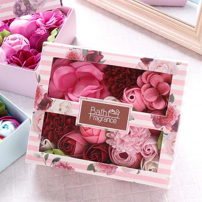 母の日 2021 プレゼント ソープフラワー ギフト 入浴剤 誕生日 女性 造花 アレンジメント|yasunaga