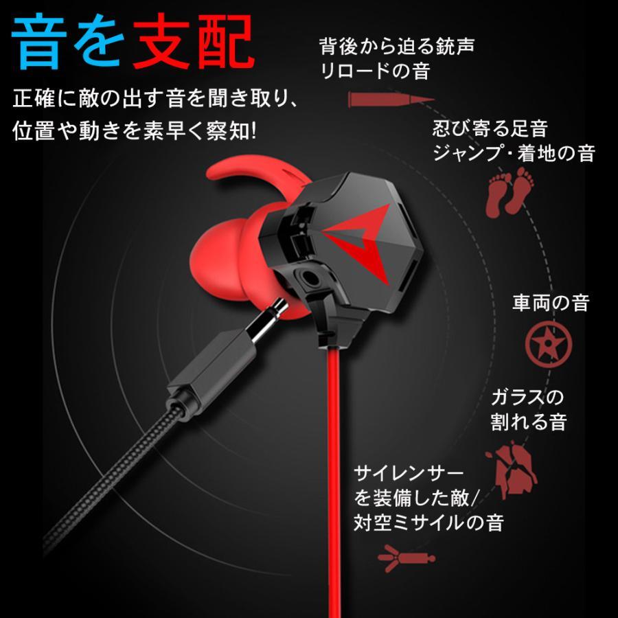 ゲーミングイヤホン マイク付き ヘッドセット PS4 スイッチ ボイスチャット スカイプ Zoom iPhone PC yasunoworks 08