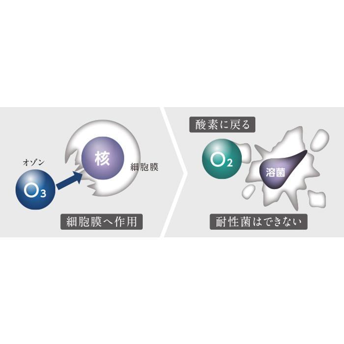 オゾン水生成器 トレビ・クリアゼロ FWO-3 フジ医療器|yasuragi-koubou|04