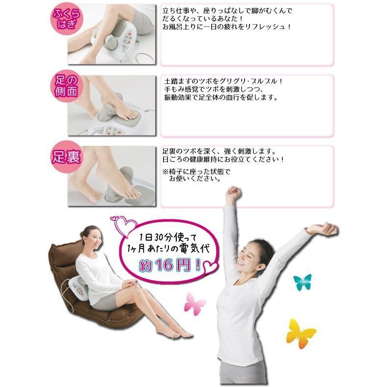 腰痛 腰 肩こり ふくらはぎ マッサージ機 マッサージ器 温風浴マルチマッサージャー TWINB ツイン・ビー ツインビー MD-7955 MD7955 送料込 新品 yasuragi-koubou 07