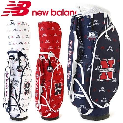 【本物新品保証】 NEW BALANCE GOLF [ニューバランス ゴルフ] ユニセックス GOLF NEW モノグラムプリント BALANCE キャディバッグ 012-8280003, マツオカチョウ:77a40d6e --- airmodconsu.dominiotemporario.com