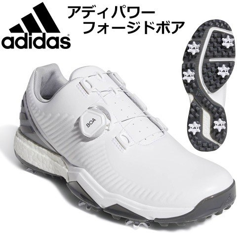 adidas [アディダス] アディパワーフォージドボア BTE46 メンズ ゴルフシューズ BB7909