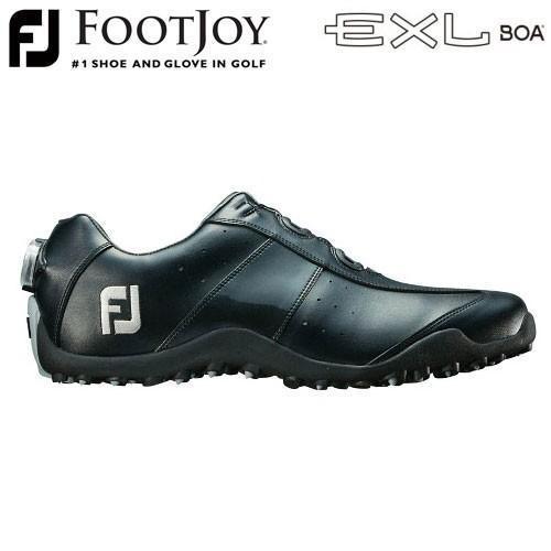 FOOTJOY [フットジョイ] EXL スパイクレス Boa メンズ ゴルフシューズ 45184 ブラック (W)