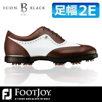 FOOTJOY [フットジョイ] ICON 黒 [アイコン ブラック] ゴルフ シューズ 52011