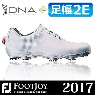 激安通販新作 FOOTJOY [フットジョイ] D.N.A Boa [ディーエヌエー ボア] メンズ ゴルフシューズ 53330 ホワイト/シルバー, 直販屋ベストカーテン365 b764ecb3