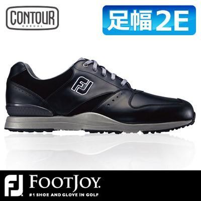 FOOTJOY [フットジョイ] CONTOUR CASUAL [コンツアー カジュアル] メンズ ゴルフシューズ 54368 ブラック
