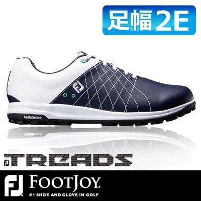 【国内発送】 FOOTJOY [フットジョイ] FJ TREAD メンズ ゴルフシューズ 56210 ホワイト/ネイビー, ピストバイク BROTURES 8c4106fc