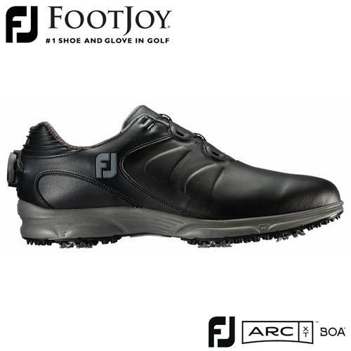 FOOTJOY [フットジョイ] FJ ARC XT Boa 2019 メンズ ゴルフシューズ 59756 ブラック 【W/足幅2E】