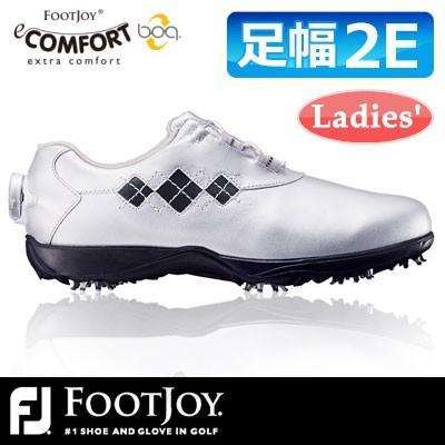 FOOTJOY [フットジョイ] eComfort Boa イーコンフォント ボア レディース ゴルフ シューズ 98555
