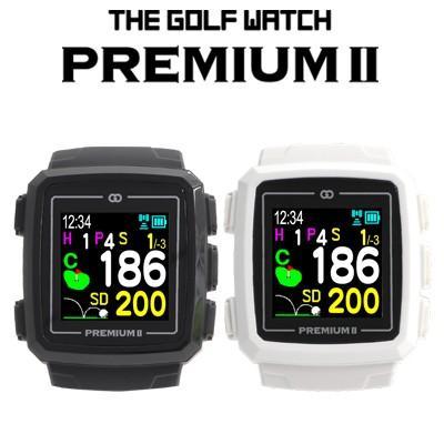 緑ON [グリーンオン] THE GOLF WATCH PREMIUM II [ザ・ゴルフウォッチ プレミアム2] 腕時計型ナビ