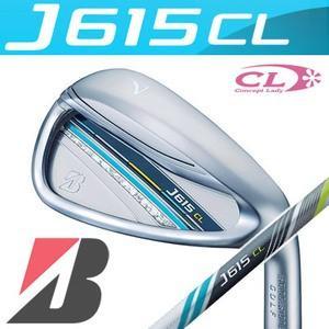 ブリヂストン ゴルフ J615 CL レディース アイアン 単品(#5、#6、AW) J15-31I カーボンシャフト