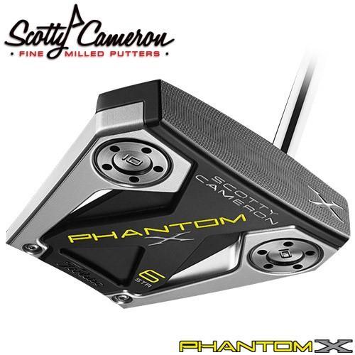 Titleist [タイトリスト] Scotty Cameron [スコッティ・キャメロン] PHANTOM X 2019 パター 6STR [日本正規品]