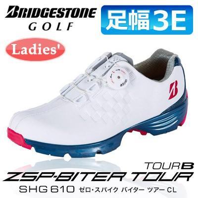 正式的 BRIDGESTONE GOLF[ブリヂストン バイター ゴルフ] BRIDGESTONE ゼロ・スパイク バイター ツアー SHG610 レディース スパイクレス シューズ SHG610, ボックスストア:48780a17 --- airmodconsu.dominiotemporario.com