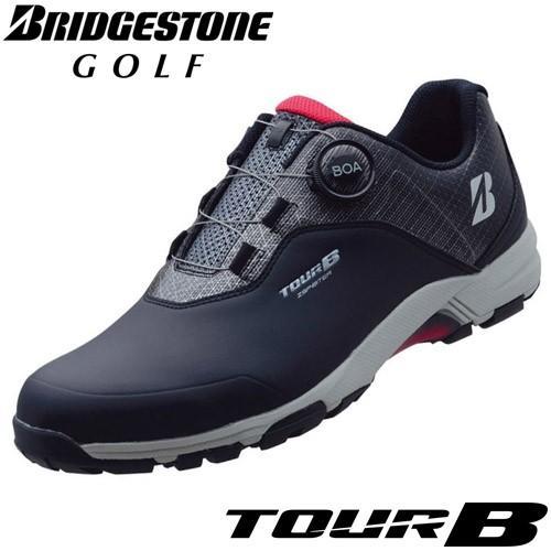BRIDGESTONE GOLF [ブリヂストン ゴルフ] TOUR B ゼロ・スパイク バイター ライトモデル ゴルフシューズ SHG950 BK