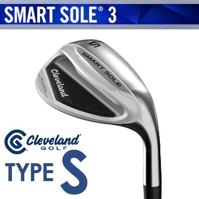 Cleveland GOLF [クリーブランド] SMART SOLE 3 [スマート ソール3] ウェッジ TYPE-S スチールシャフト [日本正規品]