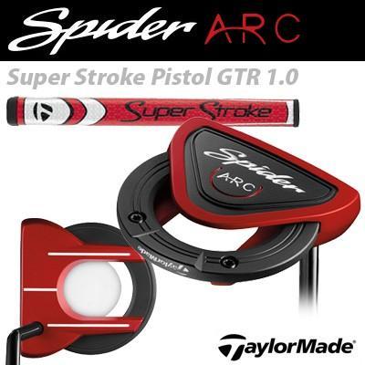 憧れの TaylorMade [テーラーメイド] Spider ARC [スパイダー アーク] パター Super Stroke Pistol GTR 1.0 モデル, DANBO c7b37a6c