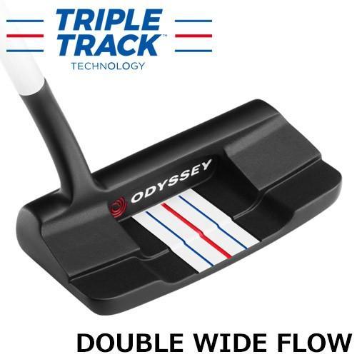 【人気商品!】 ODYSSEY [オデッセイ] 2020 TRIPLE TRACK [トリプル・トラック] DOUBLE WIDE FLOW パター [日本正規品], しろふくろう 4f0e4208