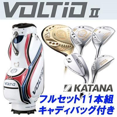 KATANA GOLF [カタナ ゴルフ] VOLTIO II [ボルティオ2] フルセット 11本組